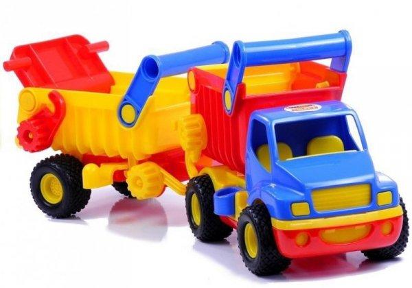 Samochód autko Cons Truck wywrotka Polesie Wader 0360