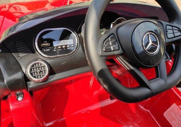 Auto na Akumulator Mercedes AMG GTR Czerwony