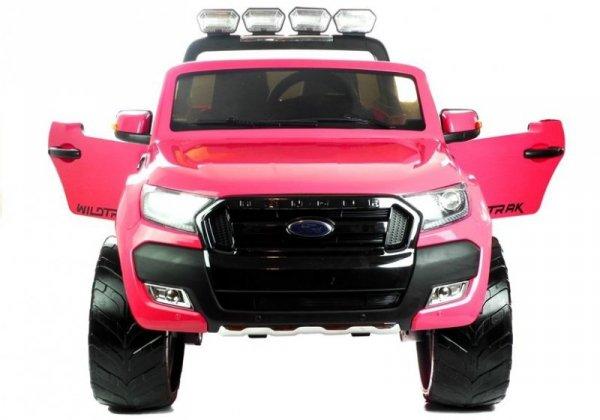 Auto na akumulator Ford Ranger 4x4 Różowy Lakier LCD