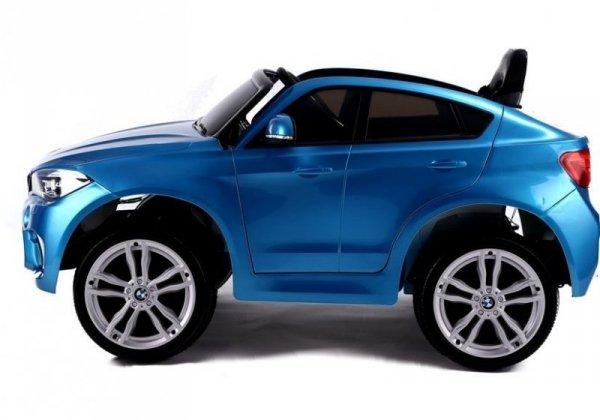 Auto na Akumulator BMW X6 Srebrny Lakierowany