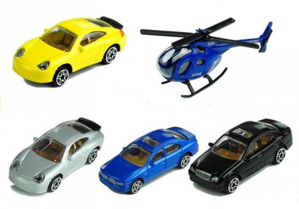 Parking Poziomowy Tor Winda 4 Autka Helikopter