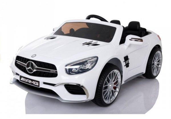 Auto na akumulator Mercedes SL65 LCD Biały