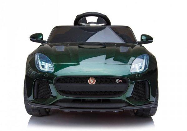 Auto na Akumulator Jaguar F-Type Zielony Lakier