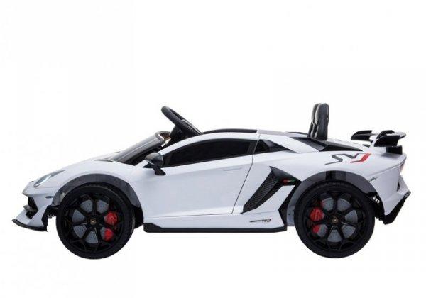 Auto na Akumulator Lamborghini Aventador Biały