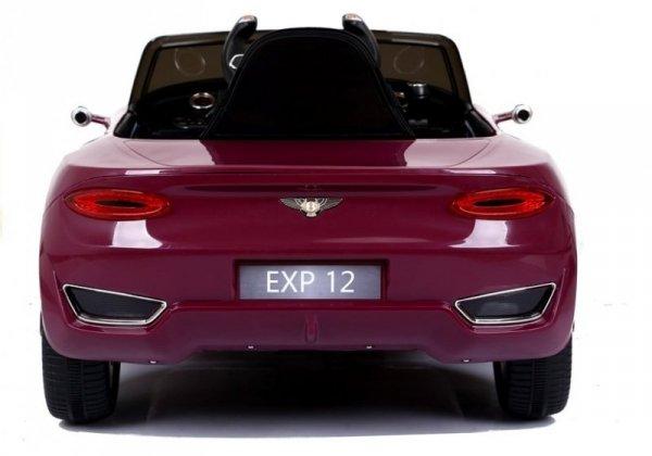 Auto na Akumulator Bentley Jasny Czerwony Lakier