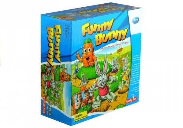 Gra Rodzinna Króliki Funny Bunny Wyścig Po Marchew