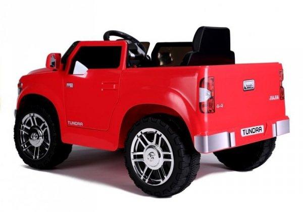 Auto na akumulator Toyota Tundra Czerwony Lakierowany Koła EVA