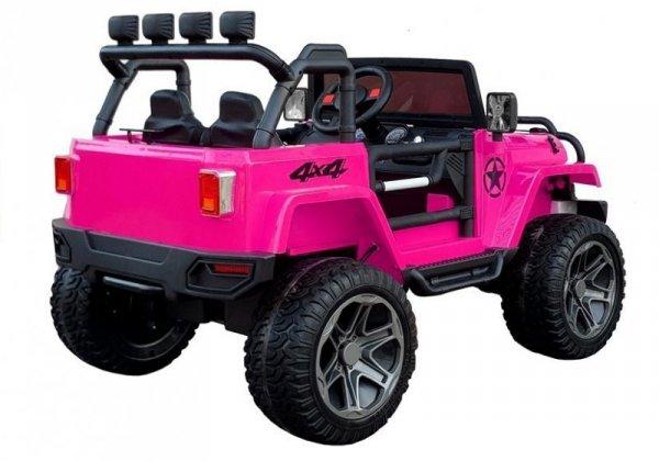 Auto na Akumulator WXE-1688 Różowy