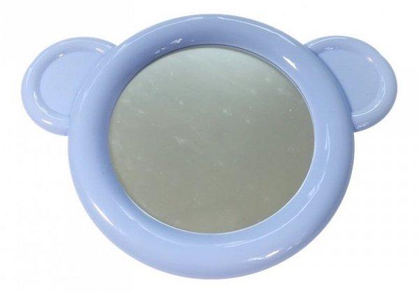 Mata Interaktywna z przyciskami niebieska