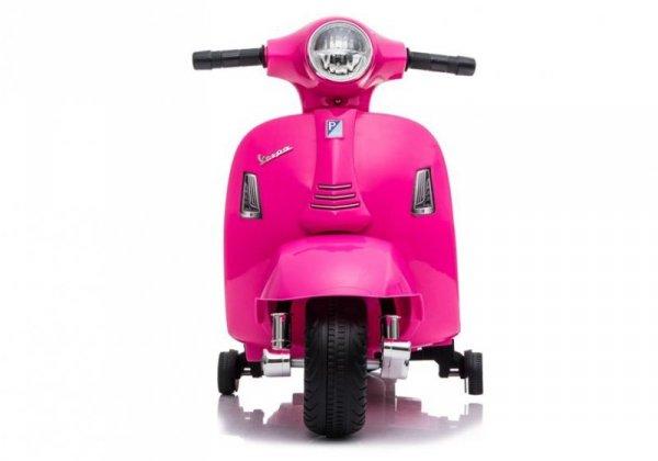 Skuter motor na akumulator Vespa GTS 300 Mini Różowy