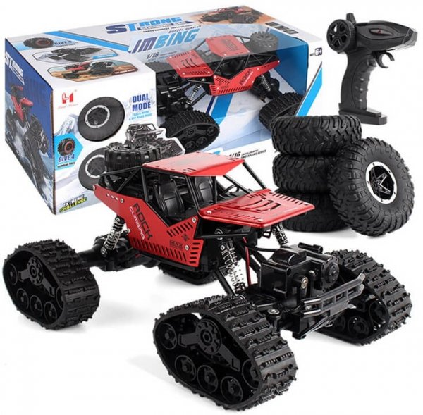 Samochód RC Rock Crawler 4x4 LH-C012 Czarny