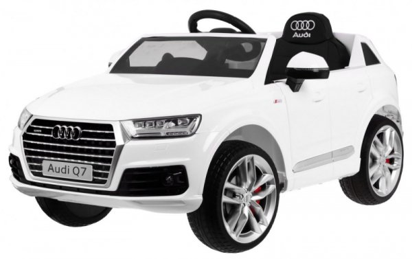 Auto na akumulator Audi Q7 2.4G New Model Biały