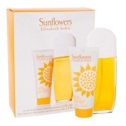 ZESTAW ELIZABETH ARDEN Sunflowers woda toaletowa dla kobiet 100ml + balsam 100ml