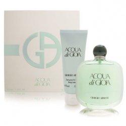 ZESTAW GIORGIO ARMANI Acqua di Gioia woda perfumowana dla kobiet 100ml + balsam 75ml