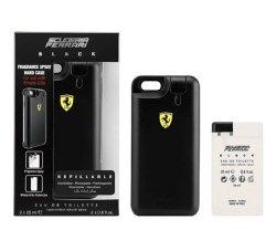 ZESTAW FERRARI Scuderia Black woda perfumowana dla mężczyzn 2x25ml wkład + etui na telefon iPhone 6 lub 6s