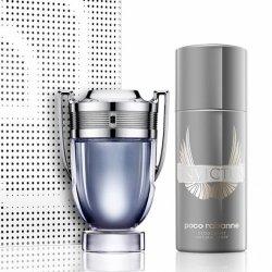 ZESTAW PACO RABANNE Invictus woda toaletowa dla mężczyzn 100ml + dezodorant w sprayu 150ml