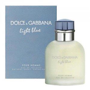 DOLCE & GABBANA Light Blue Pour Homme woda toaletowa dla mężczyzn 125ml