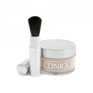 CLINIQUE Face Powder And Brush Blended puder sypki dla kobiet 35g (20 Invisible Blend)
