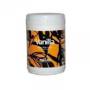 KALLOS Vanilla Shine Hair Mask maska nabłyszczająca do włosów suchych i matowych 275ml