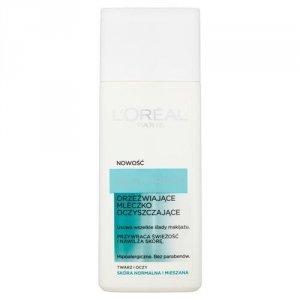 L'OREAL Ideal Fresh orzeźwiające mleczko oczyszczające do skóry normalnej i mieszanej 200ml