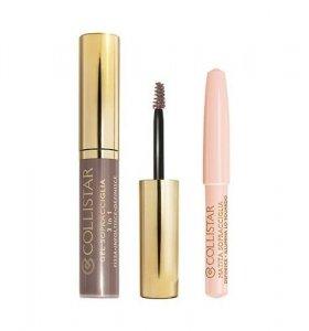 ZESTAW COLLISTAR Perfect Eyebrow Gel koloryzujący żel do brwi 2 Castano Asia + Brightening Eyebrow Pencil kredka do brwi