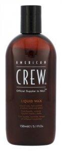 AMERICAN CREW Liquid Wax płynny wosk do włosów nadający połysk dla mężczyzn 150ml