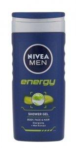 NIVEA Men Energy żel pod prysznic dla mężczyzn do twarzy, ciała i włosów 250ml