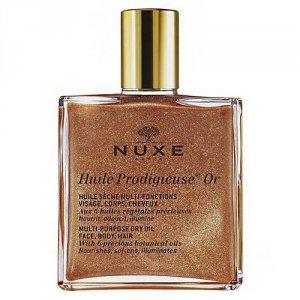 NUXE Huile Prodigieuse Or Multi Purpose Dry Oil Face Body Hair suchy olejek do twarzy, ciała i włosów dla kobiet 100ml