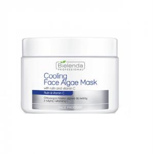BIELENDA PROFESSIONAL Face Program Cooling Face Algae Mask with Rutin & Vitamin C chłodząca maska algowa do twarzy z Rutyną i Wi