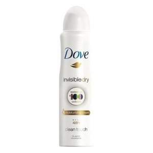 DOVE Invisible Dry Anti-Perspirant 48h dezodorant w sprayu Clean Touch 150ml