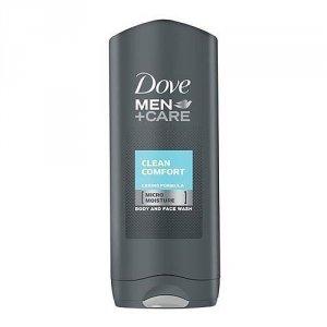 DOVE Men+Care Micro Moisture Body And Face Wash żel pod prysznic do mycia ciała i twarzy Clean Comfort 400ml