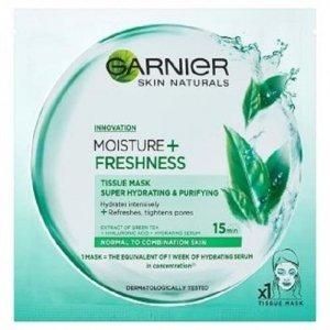 GARNIER Skin Naturals Moisture+ Freshness oczyszczająca maseczka do twarzy 32g