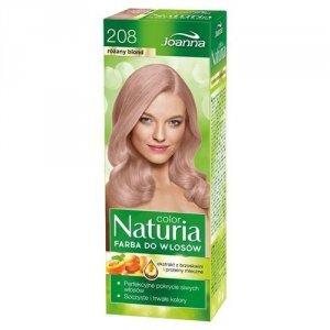JOANNA Naturia Color farba do włosów 208 Różany Blond