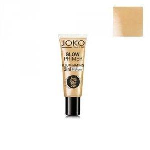 JOKO Make-Up Glow Primer Illuminating 2in1 Primer&Highlighter baza i rozświetlacz w kremie 2w1 25ml (200 Best Glow Ever!)