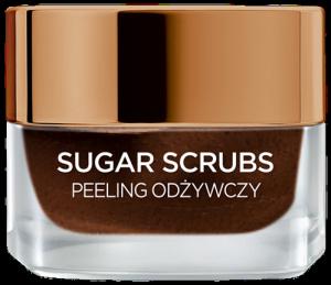 L'OREAL Sugar Scrubs peeling odżywczy do twarzy 50ml