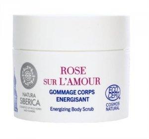 SIBERICA PROFESSIONAL Rose Sur L'Amour Energizing Body Srub energetyzujący peeling do ciała Rose de Grasse & Siberian Blueberry
