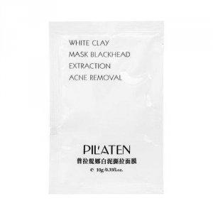 PILATEN White Mask maska peel-off oczyszczająca z białą glinką 10g