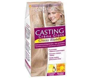 L'OREAL Casting Creme Gloss farba do włosów 1010 Jasny Lodowy Blond
