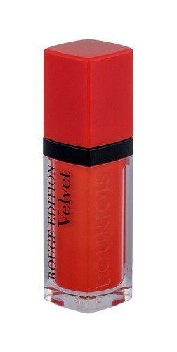 BOURJOIS PARIS Rouge Edition Velvet długotrwała pomadka matująca w płynie dla kobiet 7,7ml (20 Poppy Days)