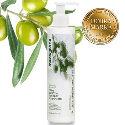 MACROVITA ŻEL OCZYSZCZAJĄCY DO TWARZY z bio-oliwą z oliwek i propolisem 200ml