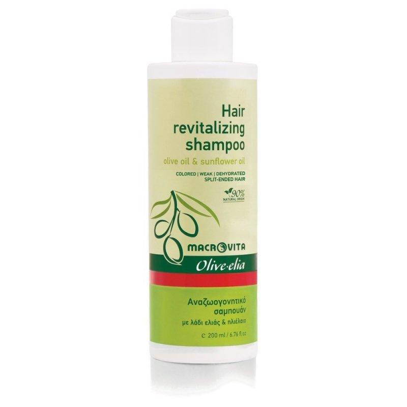 MACROVITA OLIVE-ELIA szampon regenerujący z bio-składnikami 200ml