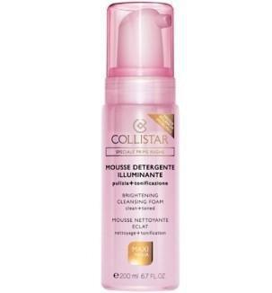 COLLISTAR Brightening Cleansing Foam rozświetlająca pianka do mycia twarzy dla kobiet 200ml