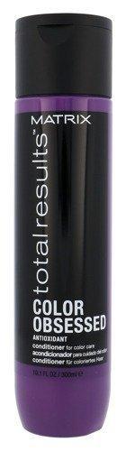 MATRIX Total Results Color Obsessed Antioxidant Conditioner odżywka do włosów farbowanych 300ml