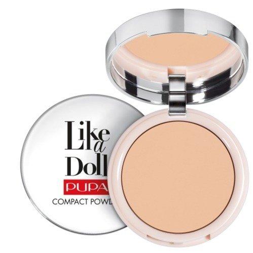 PUPA Like A Doll Nude Skin Compact Powder SPF15 puder matujący 003 10g