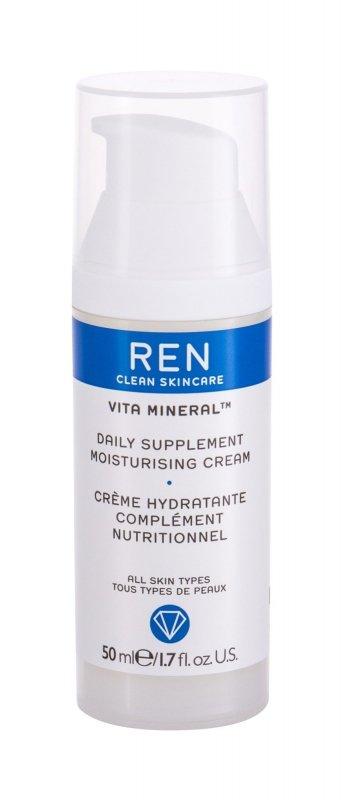 REN Clean Skincare Vita Mineral (Krem do twarzy na dzień, W, 50ml)