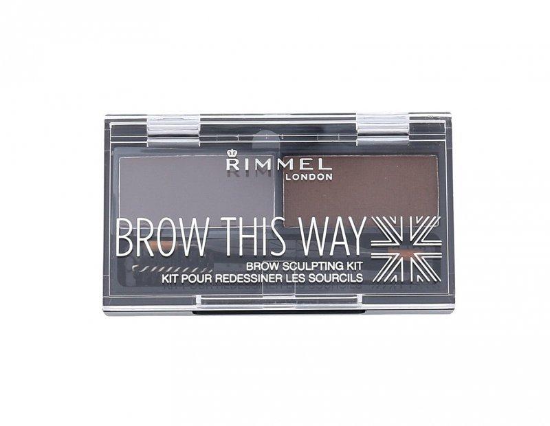 Rimmel London Brow This Way (Zestawy i palety do brwi, W, 2,4g)