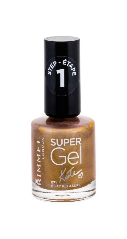Rimmel London Super Gel By Kate (Lakier do paznokci, W, 12ml)