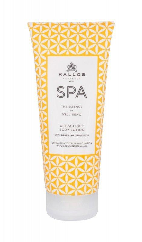 Kallos Cosmetics SPA (Mleczko do ciała, W, 200ml)