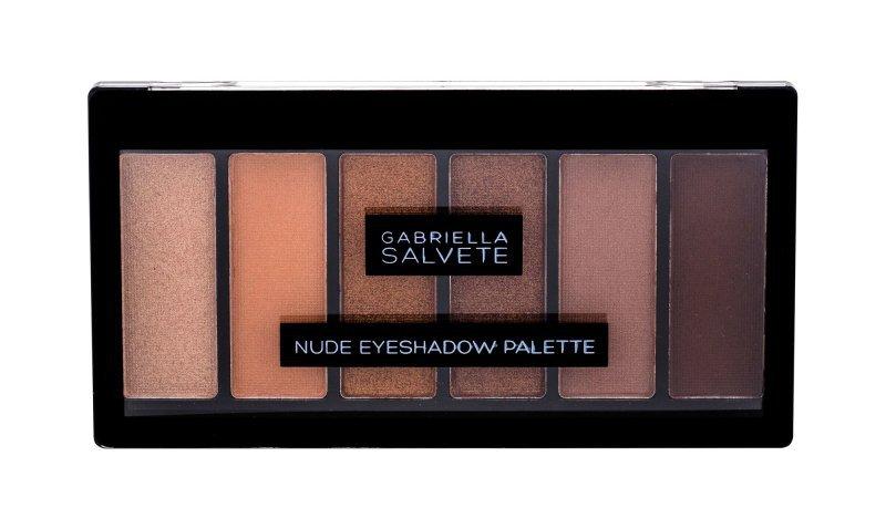 Gabriella Salvete Nude Eyeshadow Palette (Cienie do powiek, W, 12,5g)