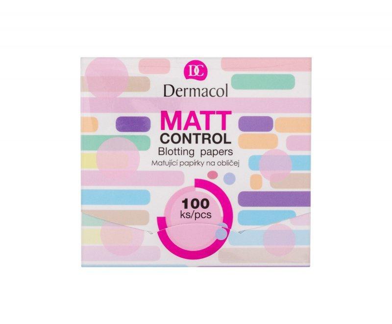 Dermacol Matt Control (Chusteczki oczyszczające, W, 100szt)